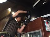 13:00 テレビの調査・設備の修理
